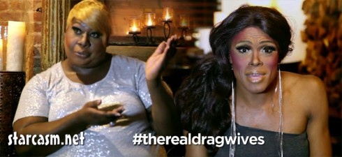 Drag queens as NeNe Leakes and Sheree Whitfield in Funny or Die clip