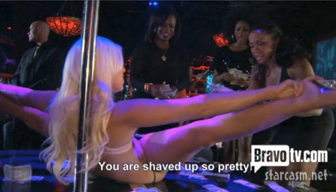 Phaedra Parks quote You are shave up so pretty (to a stripper)