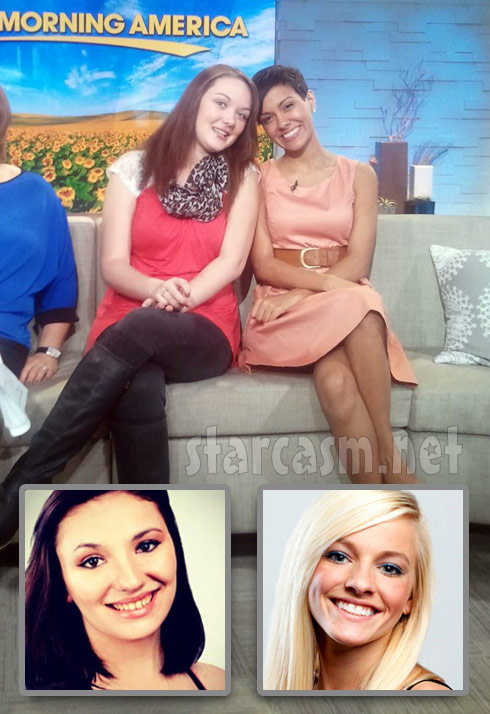 Teen Mom 3 cast Katie Yeager Briana Dejesus Alex Sekella and Mackenzie Douthit