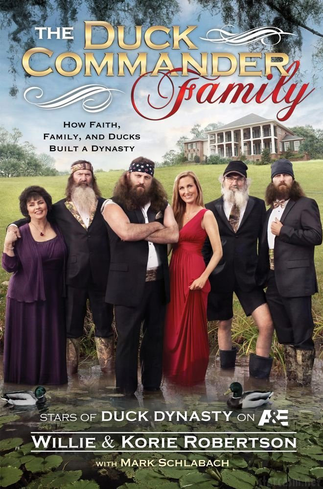 AUDIO Duck Dynasty's Willie Robertson reads from new book The Duck