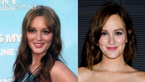 Leighton Meester cut her hair!