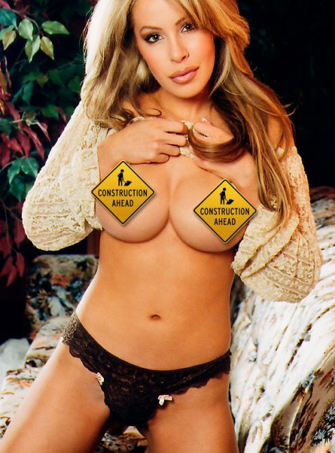 Click for unedited Lisa Hochstein topless photo from Playboy magazine