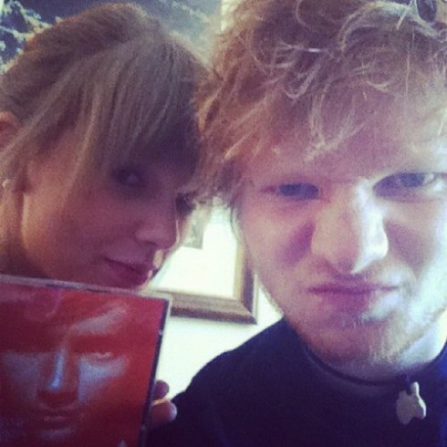Ed Sheeran dating Taylor Swift