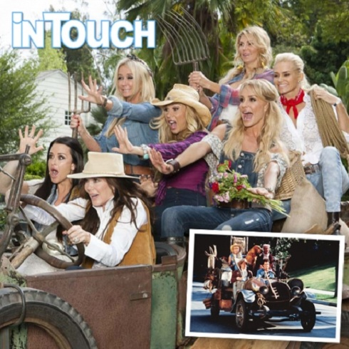 The Real Housewives of Beverly Hills cast dresses up as The Beverly Hillbilles