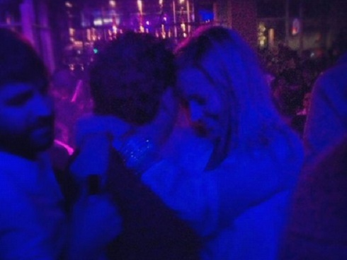 Emily Maynard and Jason White on the dance floor at Suite Nightclub in Charlotte