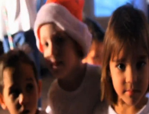 "The Roctuplets music video for ""Ready For Christmas"""