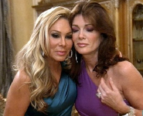Adrienne Maloof and Lisa Vanderpump on 'Real Housewives of Beverly Hills'