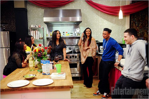 Vinny Guadagnino and the 'Jersey Shore' cast on 'Snooki & JWoww'