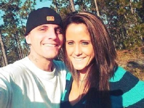 Jenelle Evans and her possible fiance Courtland Rogers