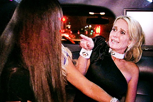 Kim Richards in the 'Real Housewives of Beverly Hills' season 1 finale