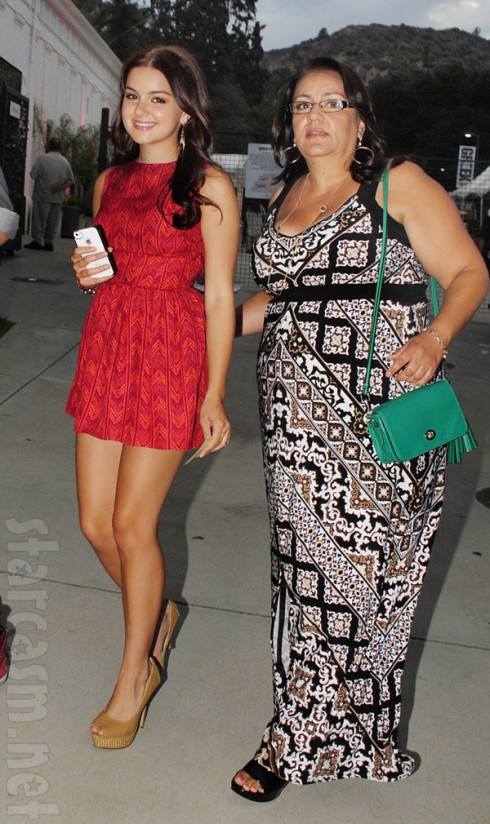 Ariel Winter and her mother Chrisoula Workman together in 2012