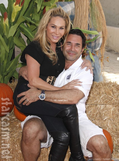 Dr. Paul Nassif and ex wife Adrienne Maloof from Real Housewives of Beverly Hills
