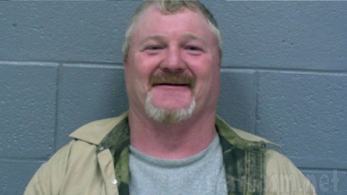 Here Comes Honey Boo Boo's Crazy Tony Lindsey mug shot photo after gorilla suit arrest