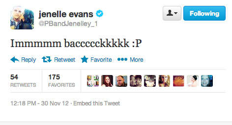 Jenelle Evans gets out of the hospital and tweets that she's back