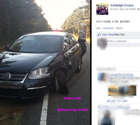 Did Courtland Rogers total Jenelle Evans' car VW Jetta?