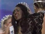 Kenya Moore Miss USA 1993 crowning