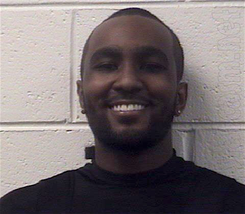 Nick Gordon mug shot photo for 2012 speeding arrest
