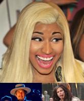 Nicki-Minaj_Bob-Dylan_Steven-Tyler_TN