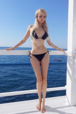 Valeria Lukyanova bikini photo from Facebook