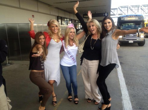 Vicki Gunvalson, Tamra Barney and Real Housewives of Orange County cast head ot Mexico for bachelorette party