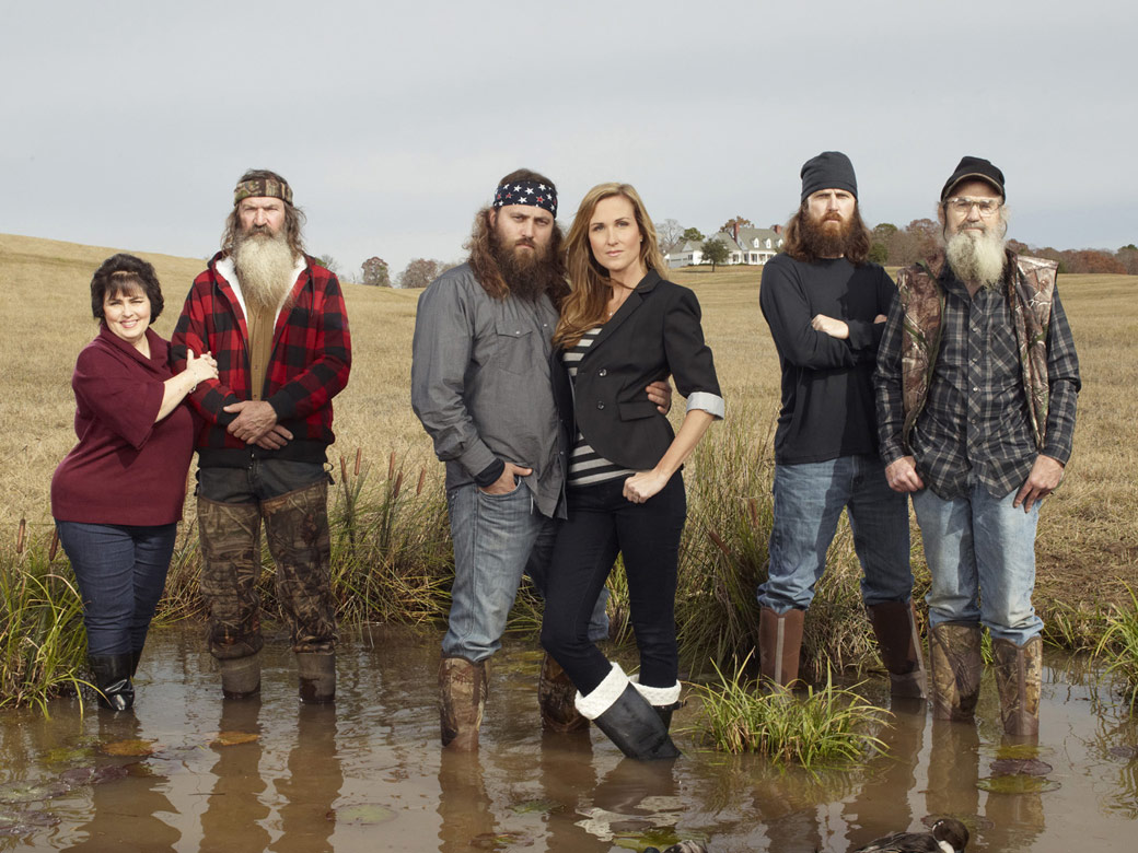 Duck Dynasty Robertson family