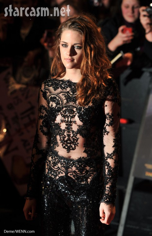 Kristen Stewart lace bodysuit breaking dawn hot pretty