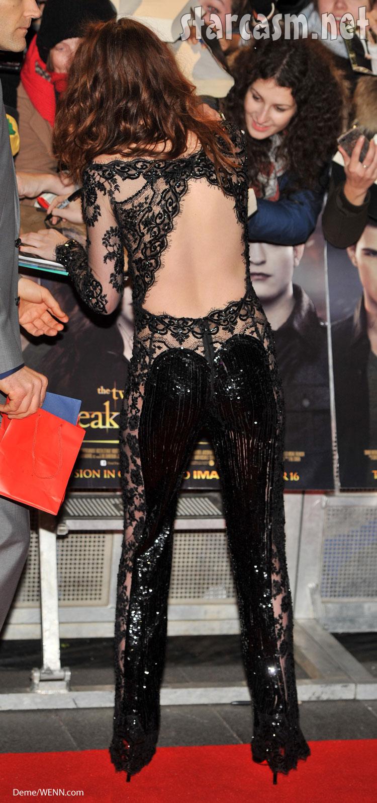 Kristen Stewart jumpsuit Twilight premire