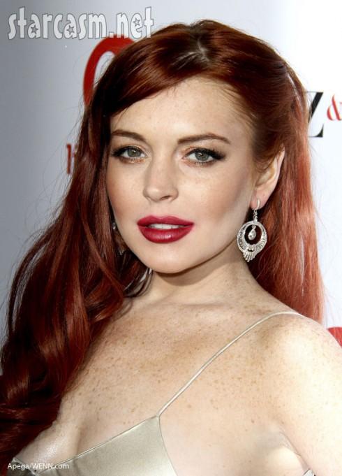 Lindsay Lohan Liz & Dick redhead Elizabeth Taylor
