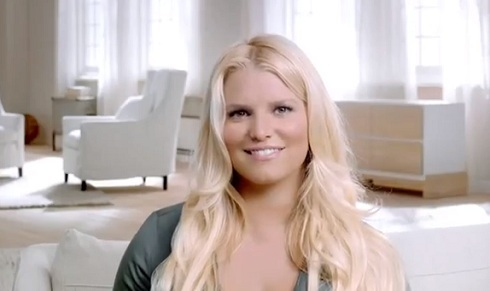 Jessica Simpson for Weight Watchers weight loss campaign