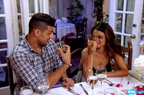 "'Shahs of Sunset' stars Omid Kalantari and Golnesa ""GG"" Gharachedaghi"