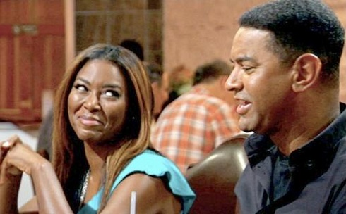 Kenya Moore and boyfriend Walter Jackson on 'Real Housewives of Atlanta'