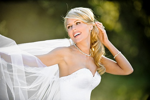 'Real Housewives of Orange County' star Gretchen Rossi in wedding dress