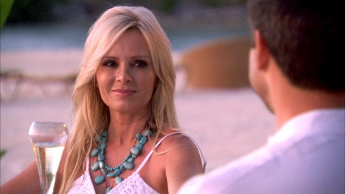 Tamra Barney with fiance Eddie Judge on 'Real Housewives of Orange County'