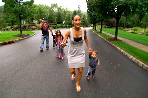 'Real Housewives of New Jersey' star Melissa Gorga with husband Joe and children
