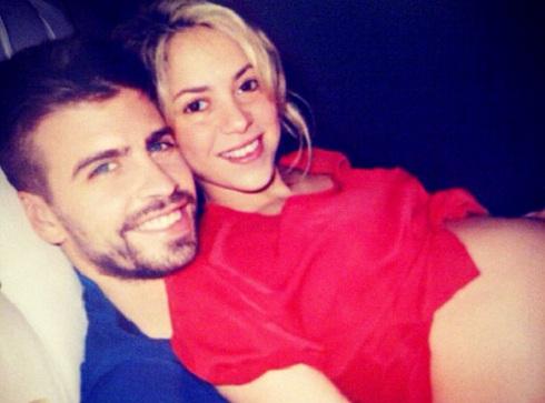 Gerard Pique and Shakira