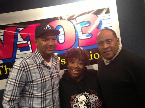 Walter Jackson on V103 with Wanda Smith and Frank Ski
