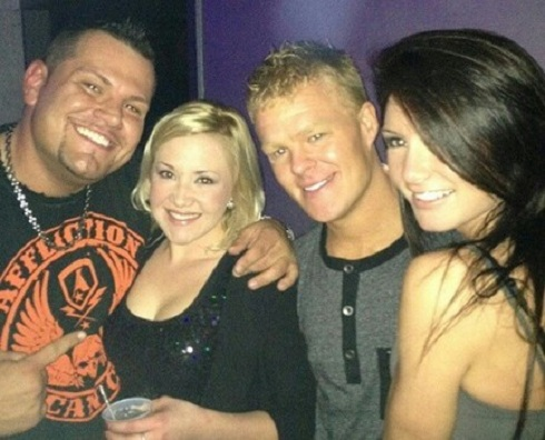'Teen Mom' exes Kyle King and Dalis Connel hang at a club