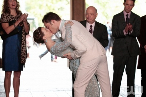 'Gossip Girl' Blair and Chuck get married