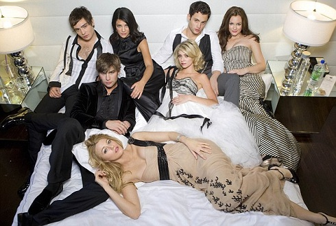 'Gossip Girl' cast photo