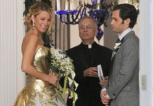 'Gossip Girl' Serena and Dan get married on the series finale