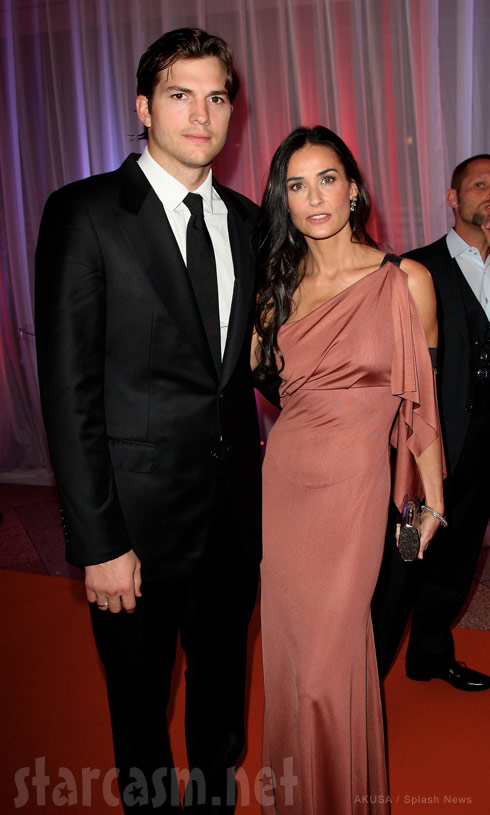 Ashton Kutcher files for divorce from Demi Moore