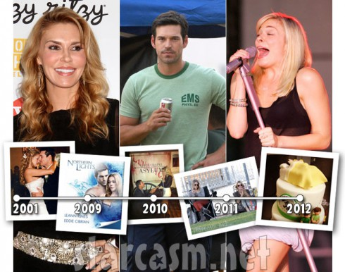 A timeline of the LeAnn Rimes Brandi Glanville feud that started with Eddie Cibrian