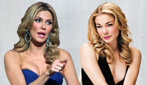 LeAnn Rimes and Brandi Glanville's feud continues