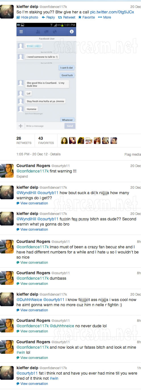 Courtland Rogers tweets Kieffer Delp got Jenelle Evans addicted to heroin