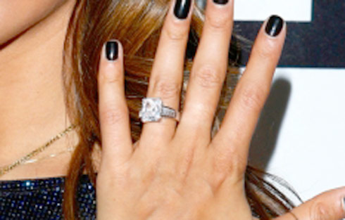 Shahs of Sunset star GG Golnesa engagement ring from WWHL