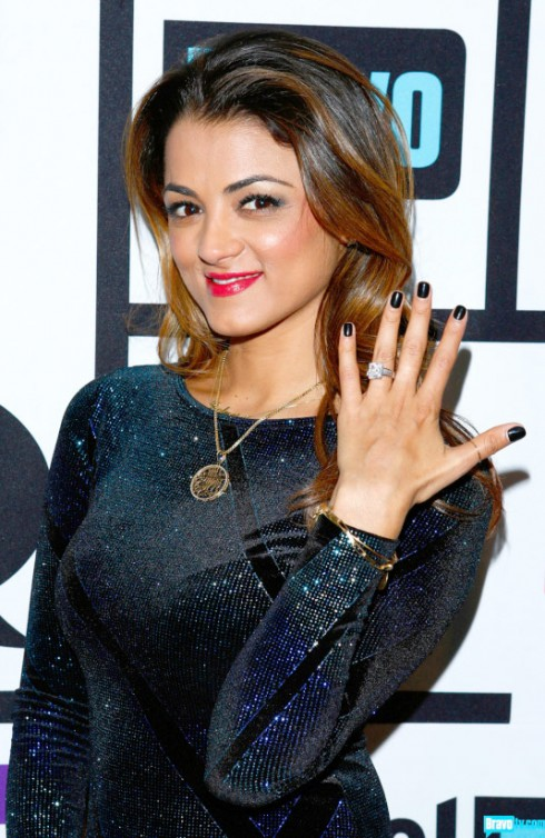 Shahs of Sunset's Golnesa GG shows off her engagement ring