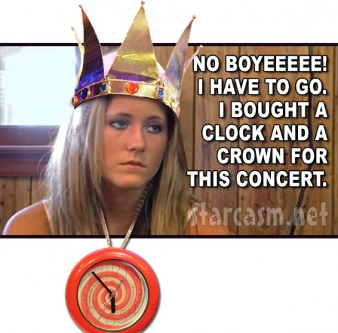Teen Mom Jenelle Evans as Flavor Flav