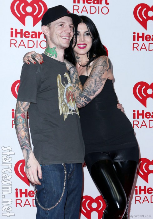 Kat Von D and Deadmau5 together