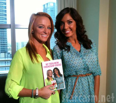 Maci Bookout and Farrah Abraham together in Florida