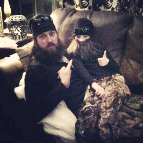 Duck Dynasty Jase Robertson daughter Mia beard